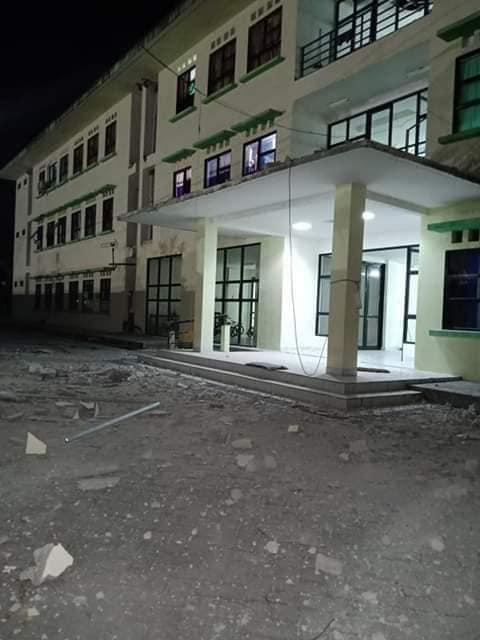 BNPB: Sejumlah Bangunan Rusak Pasca Gempa M 5,1