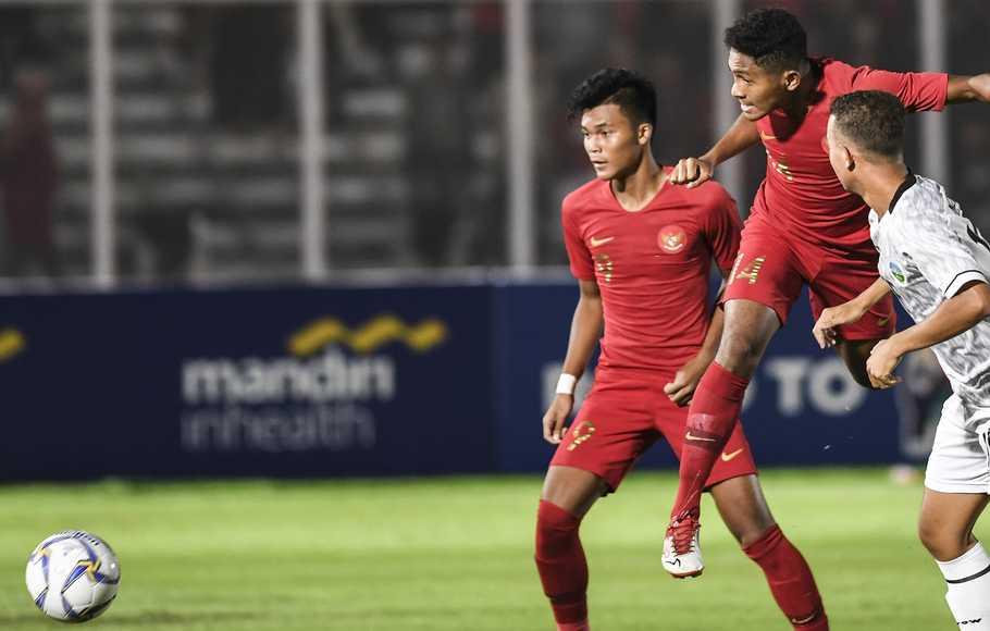 Timnas Indonesia U-19 Tundukkan Timor Leste 3-1