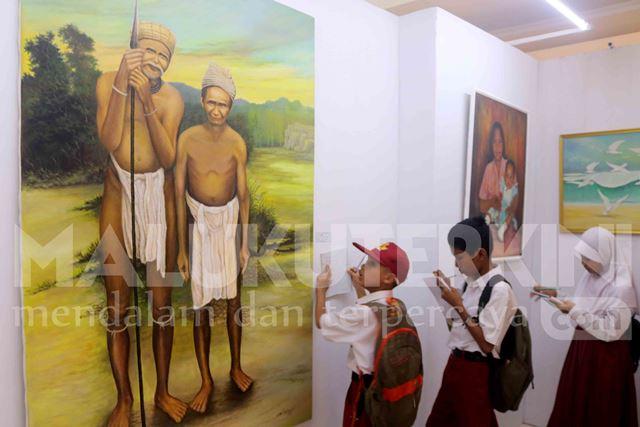 Menyimak Ekspresi Karya Seni Rupa Maluku