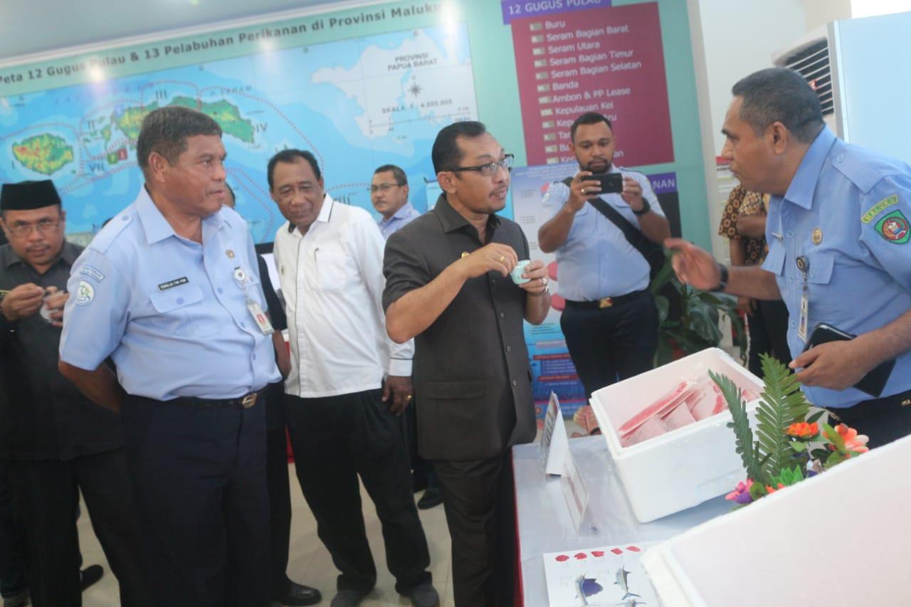 Peringati Hari Nusantara, DKP Maluku Pamerkan Sejumlah Produk