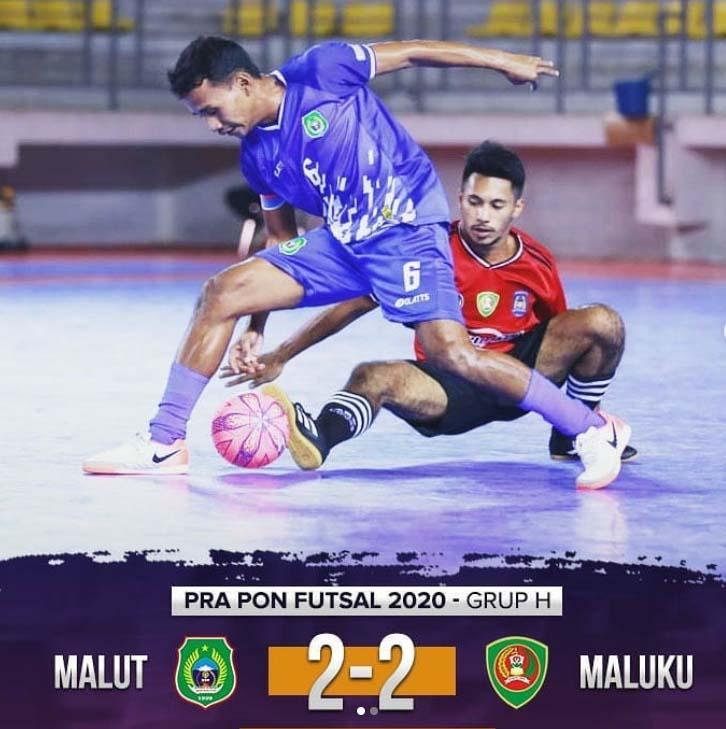 Tim Futsal Maluku Gagal ke PON XX/2020