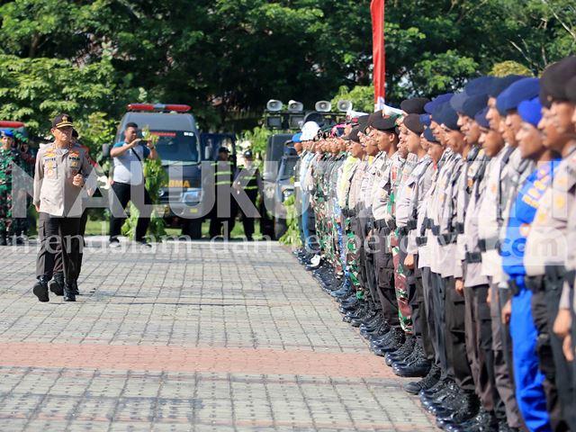 Operasi Lilin Siwalima 2019, Ribuan Personel Gabungan Dikerahkan