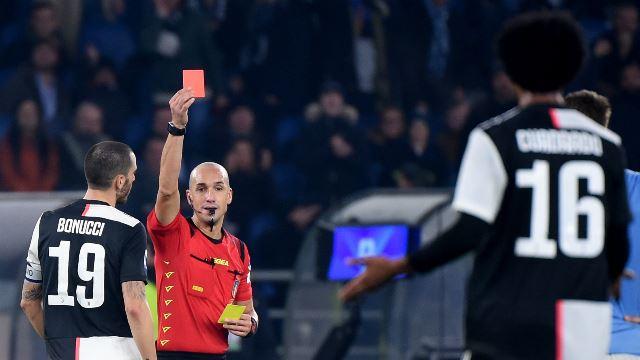 Kartu Merah Cuadrado Jadi Titik Balik Juve Kalah dari Lazio