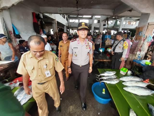 Kapolda Maluku Sidak Pasar Mardika