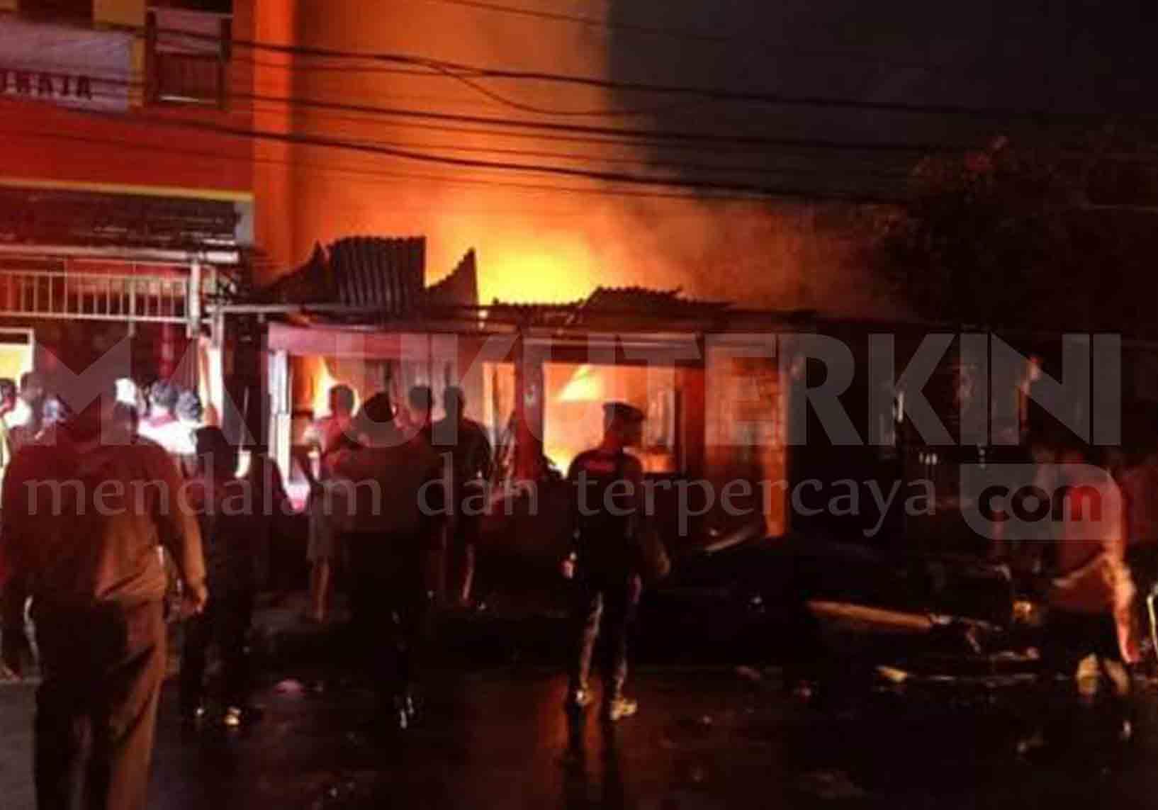Ini Penyebab Kebakaran di Jalan Yan Paays