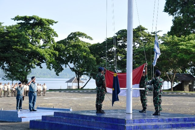 Lantamal Ambon Peringati Hari Bela Negara