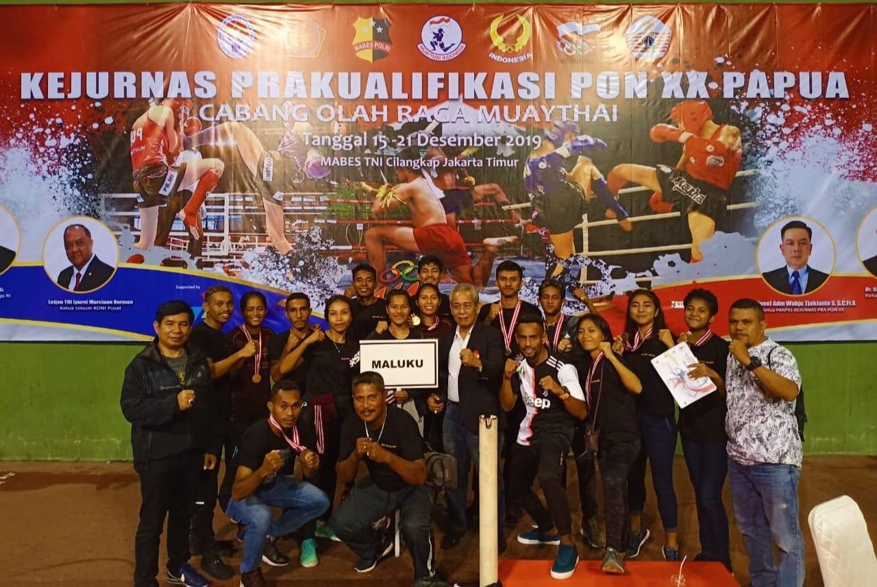 Muaythai Maluku Loloskan 6 Petarung ke PON XX/2020