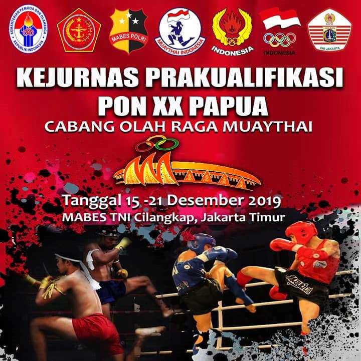 Kejurnas Pra PON Muaythai: 4 Atlet Maluku akan Berlaga Hari Ini