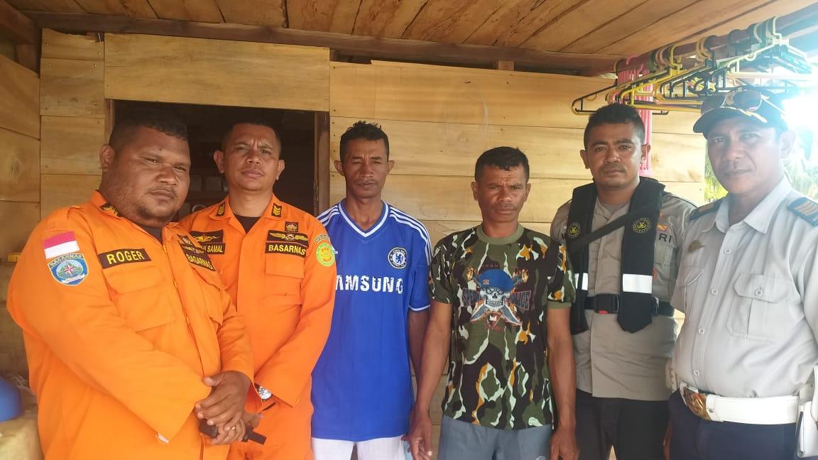 Dua Nelayan Buru Ditemukan Selamat di Pulau Obi
