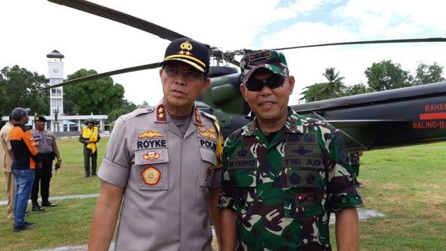 Pasca Salah Paham Personel, Pangdam Pattimura & Kapolda Maluku akan ke Saumlaki