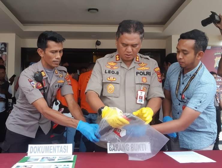 Polisi Tangkap 3 Tersangka Penikaman di Batu Gantung