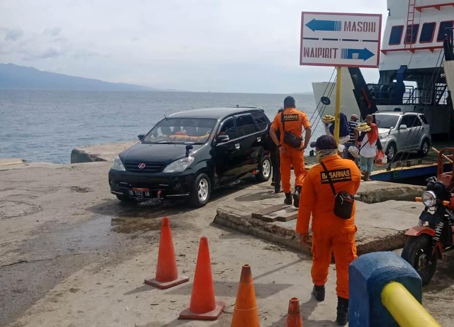 Tim SAR Ambon Pantau Aktivitas di Kawasan Wisata dan Pelabuhan