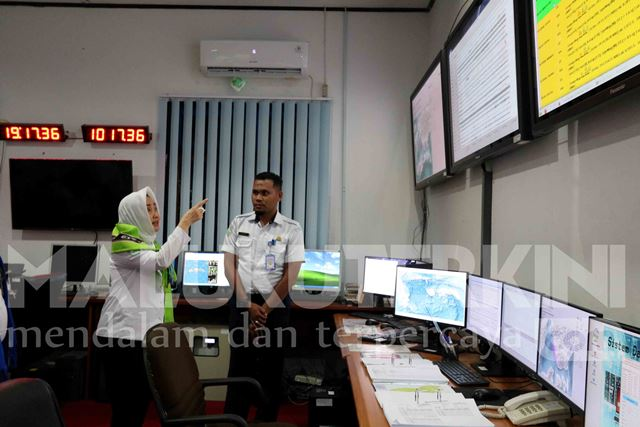 Tinjau Stasiun Geofisika Ambon, Kepala BMKG Minta Optimalkan Layanan Data