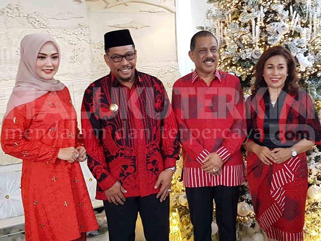 Perayaan Natal, Gubernur Maluku Sambangi Kediaman Wali Kota Ambon