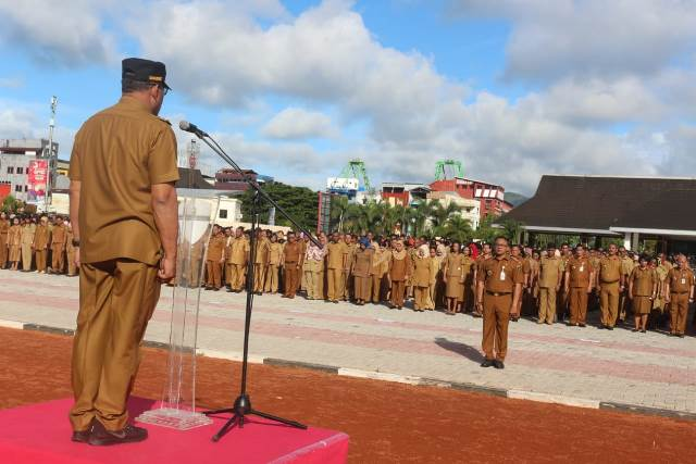 Pimpin Apel Perdana, Gubernur Maluku Ajak ASN Kerja Lebih Nyata