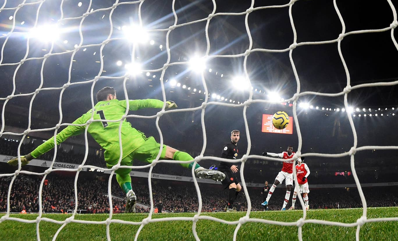 Arsenal Libas Manchester United 2 0