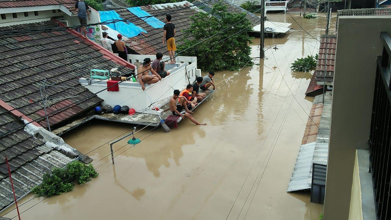 BNPB: 16 Orang Meninggal Akibat Banjir di Jabodetabek