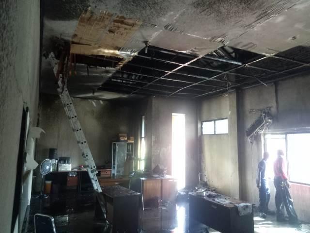 Gedung Kanwil BPN/ATR Maluku Dilalap Api, Sejumlah Peralatan Hangus