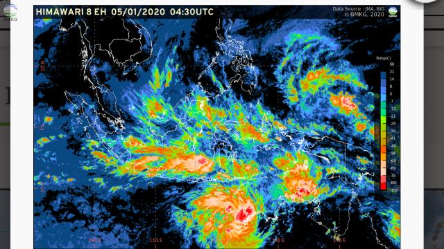 BMKG: Waspadai Potensi Cuaca Ekstrem Sepekan Ke Depan