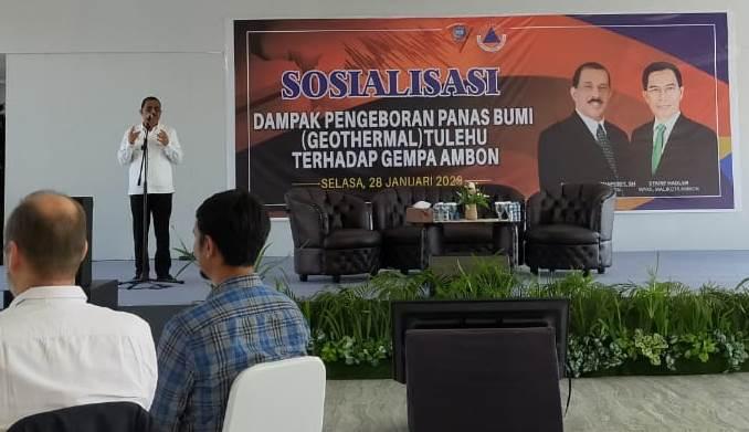 Wali Kota Ambon: Gempa Tak Terkait Pengeboran PLTP Tulehu