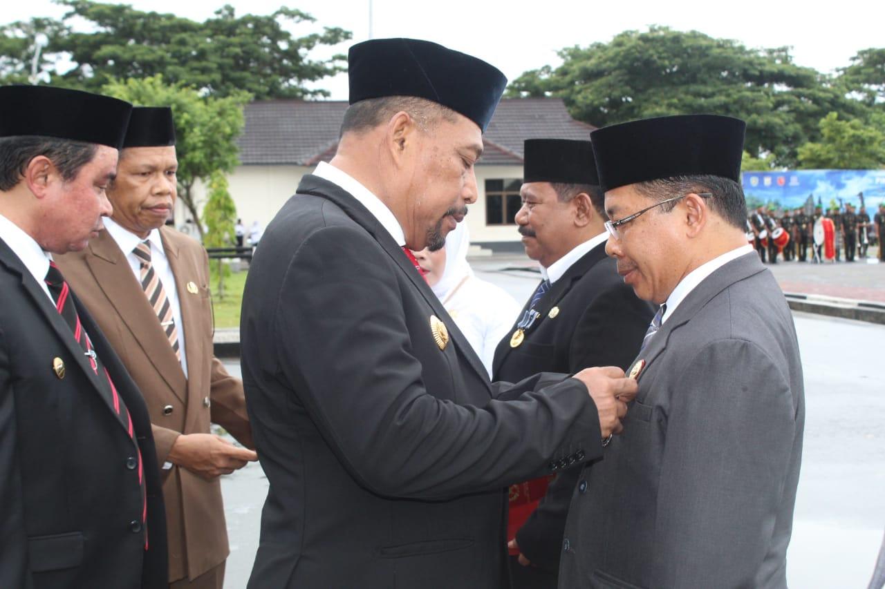 Sejumlah ASN Kemenag Maluku Peroleh Satya Lencana