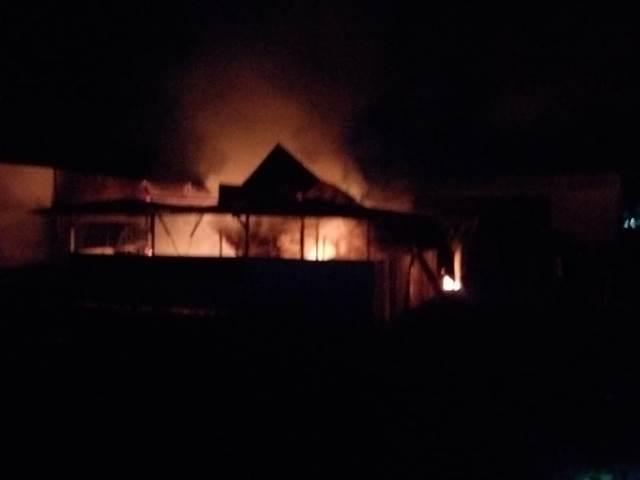 Kantin Proyek RSUP Leimena Dilalap Api