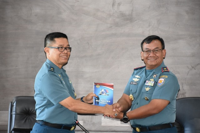 Tim Mabesal Tinjau Pelaksanaan Bulan Trisila di Lantamal Ambon