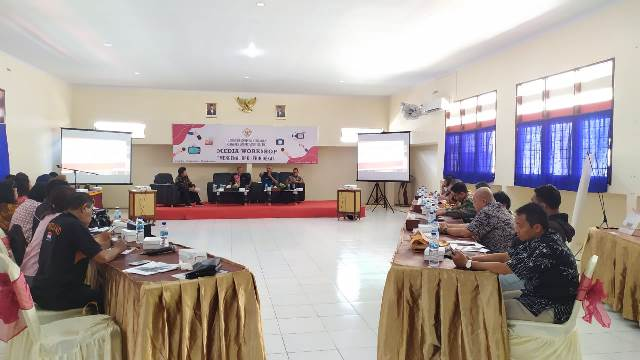 BPK Perwakilan Maluku Gelar Workshop Media