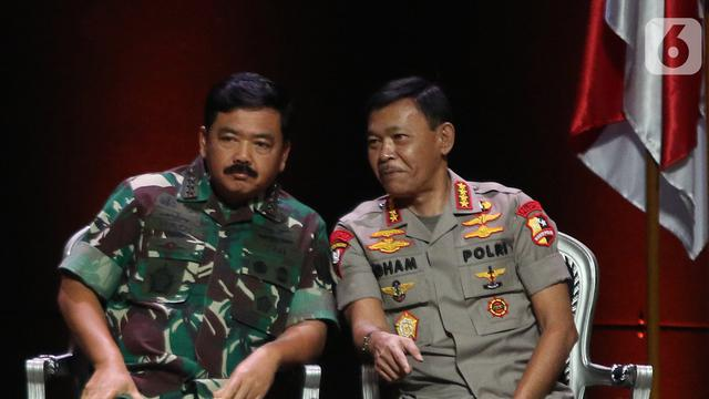Kamis Malam, Panglima TNI dan Kapolri Tiba di Ambon