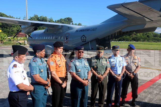 Pesawat Patroli Maritim TNI AL Kembali Cari KLM Panji Saputra