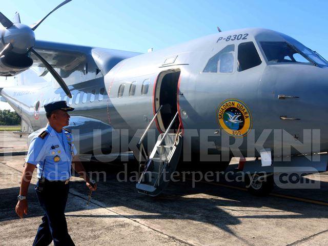 Bantu Cari KLM Panji Saputra, TNI AU Kerahkan Pesawat
