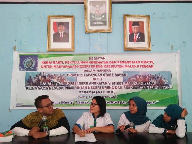 Mahasiswa STIKES Maluku Husada Gelar Penyuluhan Kesehatan