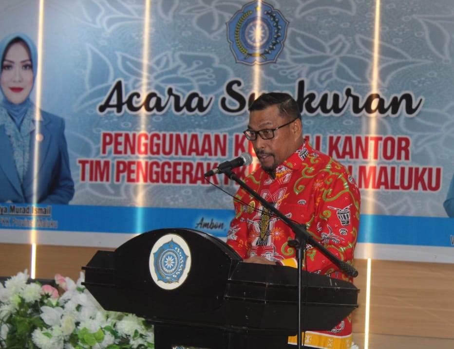 Gubernur Maluku: PKK Harus Tingkatkan Kepekaan