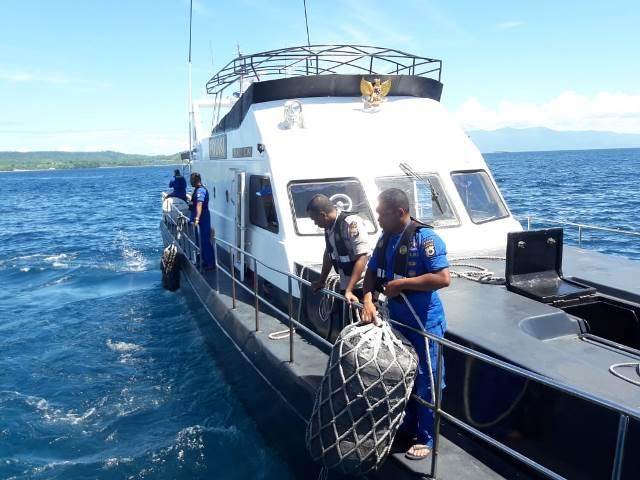Ditpolairud Polda Maluku Kerahkan Satu Kapal Cari KLM Panji Saputra