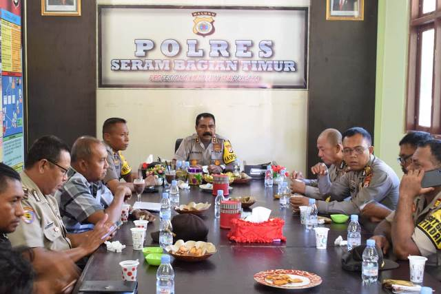 Kapolres SBT Ingatkan Personel Harus Junjung Netralitas Saat Pilkada