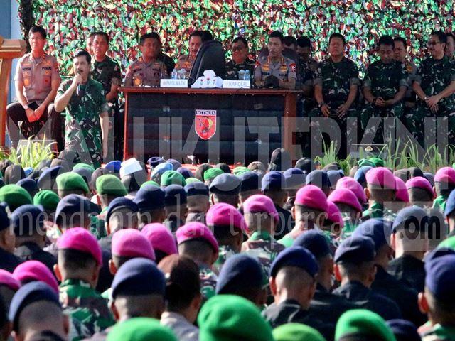 Panglima TNI dan Kapolri Kagumi Sinergitas Prajurit di Maluku