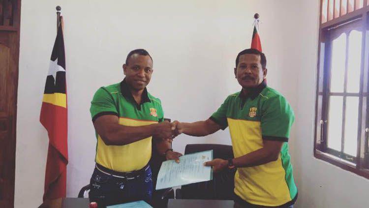 Yance Matmey, Pelatih yang Sukses Raih 'Treble Winner' di Liga Timor Leste