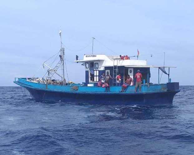 KM Aru Permai Ditemukan di Perairan Ambalau