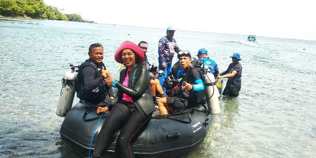 Puluhan Penyelam Mulai Menjelajah Surga Bawah Air Ambon
