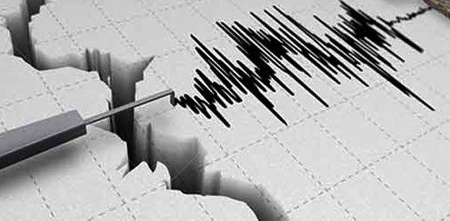 Gempa Bumi Tektonik M 5,6 Guncang Laut Seram, Terasa IV MMI di Kobisonta