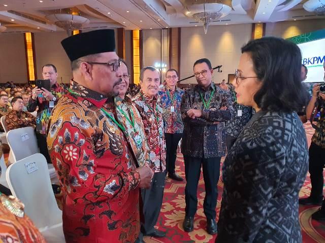 Hadiri Rakornas Investasi, Gubernur Sampaikan Kondisi Maluku ke Menkeu