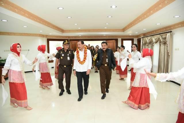 Jambin Kejagung Kunker ke Kejati Maluku