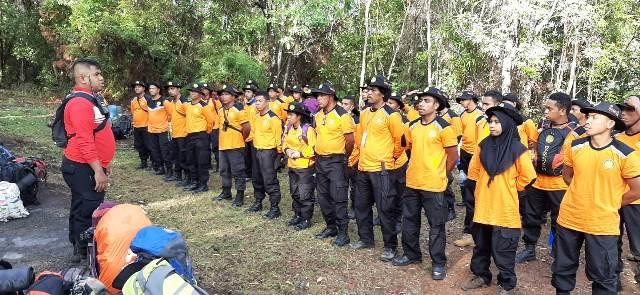 50 Personel Potensi SAR Praktek Lapangan 'Jungle Rescue'
