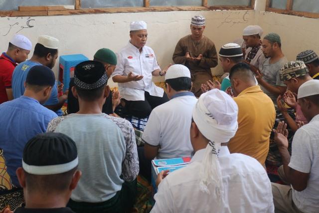 Sambangi Rutan dan RS Bhayangkara, Kapolda Maluku Beri Motivasi