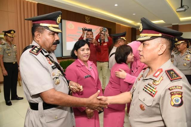 Sertijab Sejumlah Pejabat, Kapolda Maluku: Jangan KKN