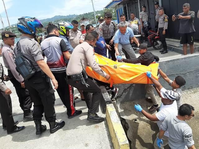 Mayat Laki-laki Ditemukan Terapung di Pelabuhan Enrico