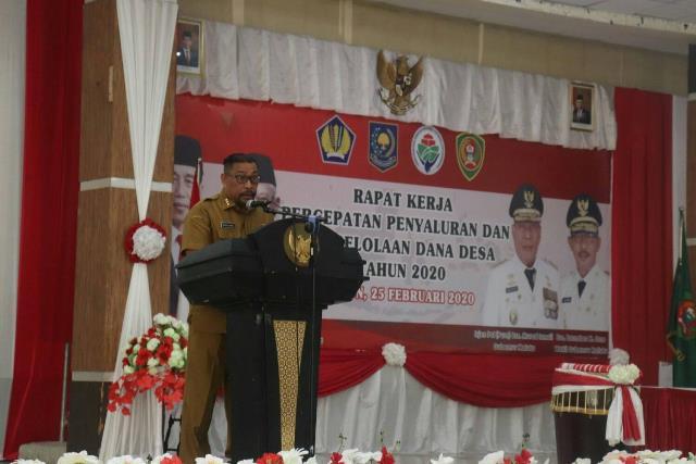 562 Kades Belum Definitif, Gubernur Maluku: 6 Bulan Harus Beres
