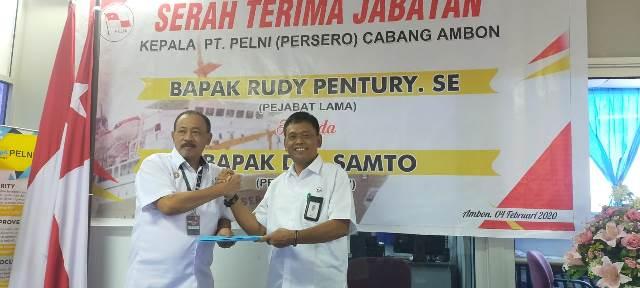 Rudy Pentury Pimpin Pelni Makassar, Samto Masuk Ambon