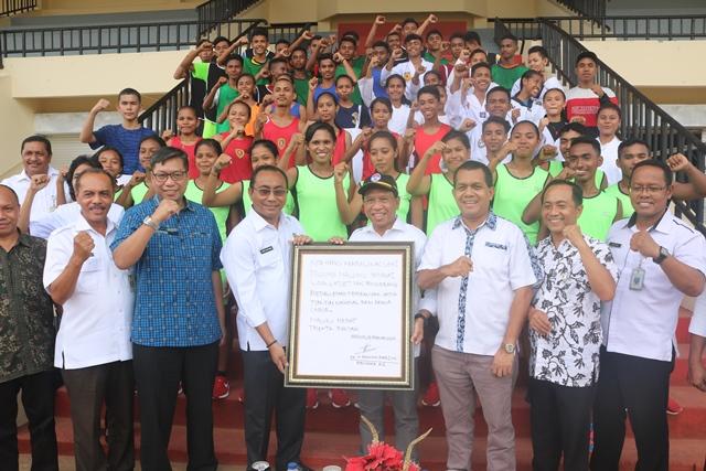 Menpora: Kembalikan Lagi Kejayaan Olahraga Maluku