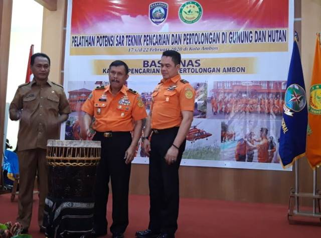 "Potensi SAR di Ambon Dilatih ""Jungle Rescue"""